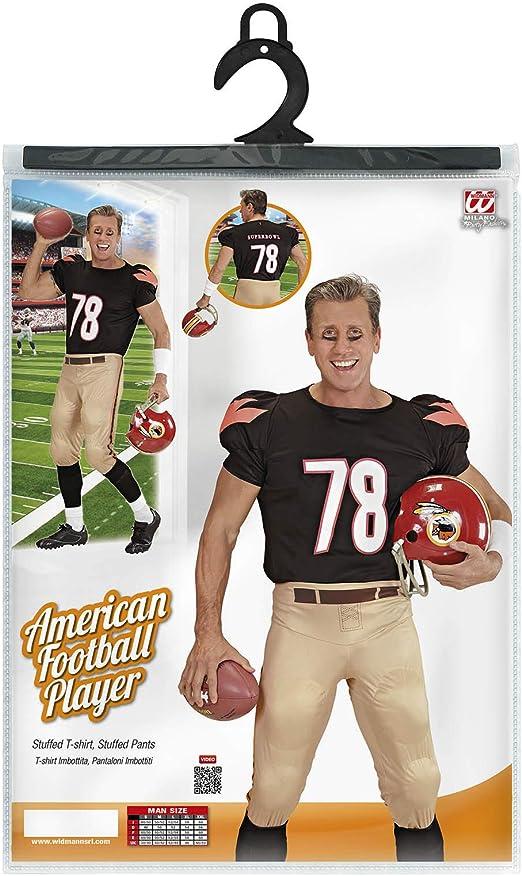 Costume American football star TG S Sport Costume Uomini S-casco con