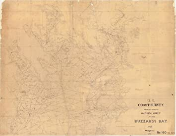 Amazoncom Vintography 8 X 12 Inch 1845 Us Old Nautical Map Drawing - Us-map-1845