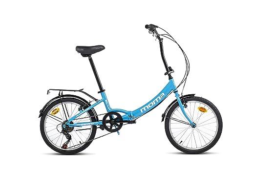 Moma Bikes First Class 2 Bicicleta, Adultos Unisex, Azul, Talla única: Amazon.es: Deportes y aire libre