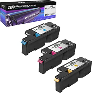 2 PK Cyan Toner Cartridge For Dell Laser 1250 1355cn C1760nw C1765nf C1765nfw