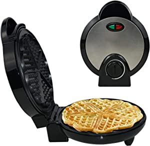Mini Waffle Maker,Electric Waffle Maker , Crepe Toaster Non-Stick , Household Muffin Iron Buuble Eggs Cake Oven Breakfast Baking Machine