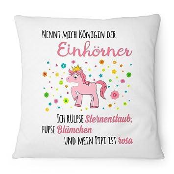 Fashion Alarma Cojín menciona mich Reina la unicornios - 40 ...