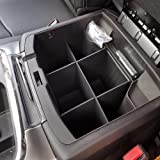 JessicaAlba Car Center Console Organizer for Dodge RAM 1500, 2500, 3500 trucks, model years 2009-2018