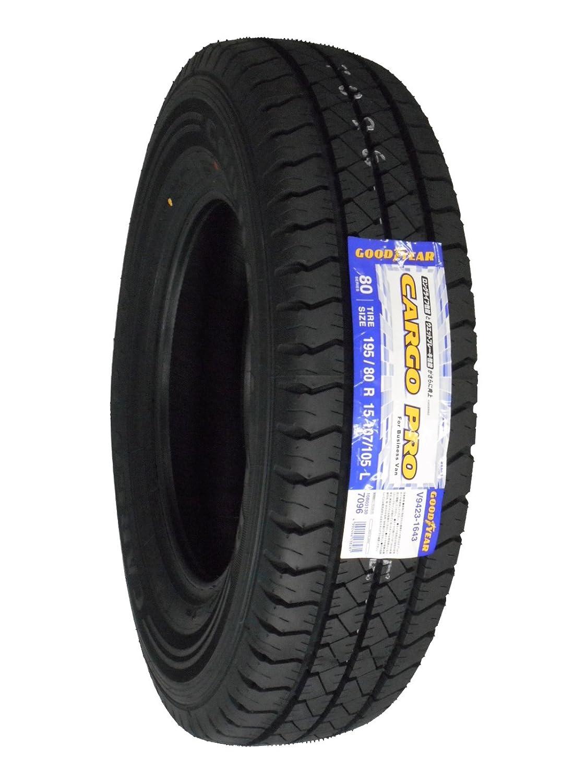 グッドイヤー カーゴ プロ 195/80R15 107/105L サマータイヤ 【バン/トラック用】 B06XSTL361