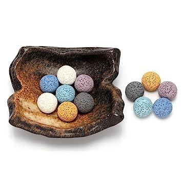 Lava Stone Diffuser Set