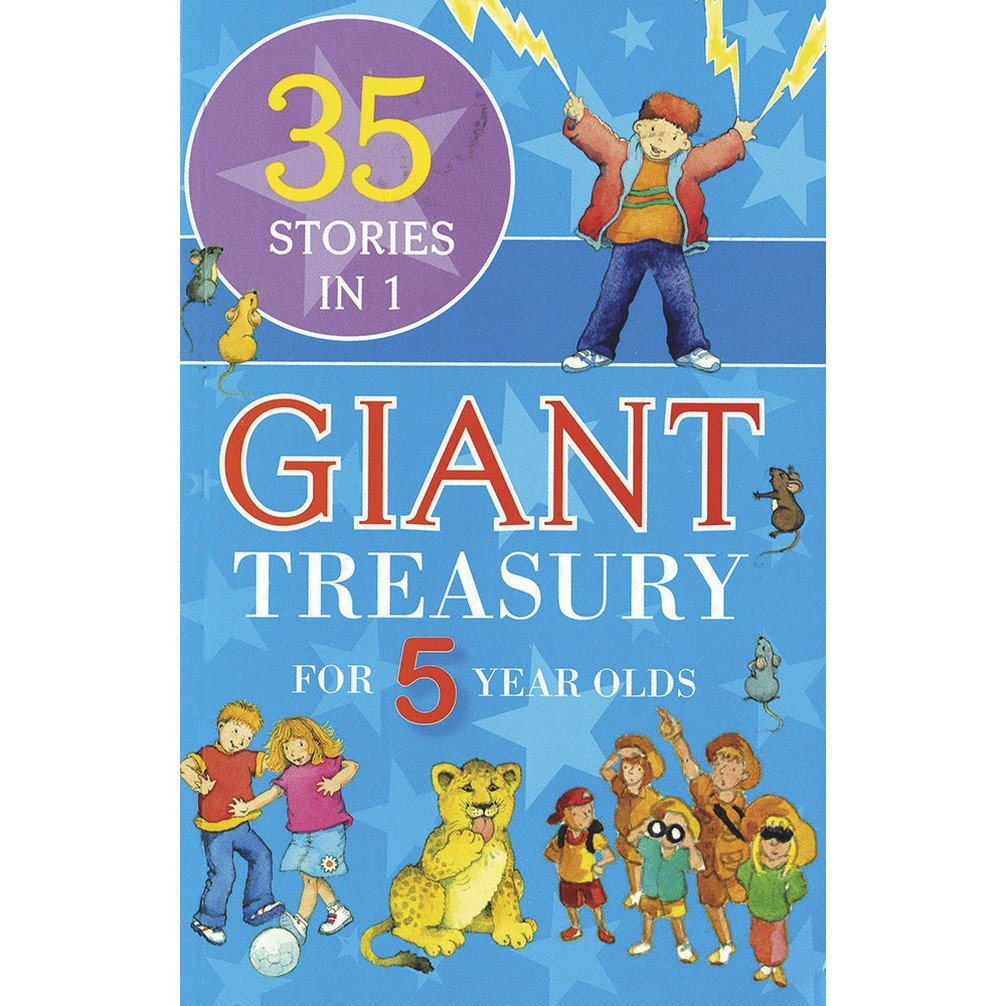 Download Giant Treasury for 5 Year Olds pdf