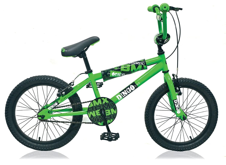 "20"" 20 Zoll BMX Kinder Jugend Fahrrad Rad KINDERFAHRRAD Bike KINDERRAD Dingo GRÜN SCHWARZ"