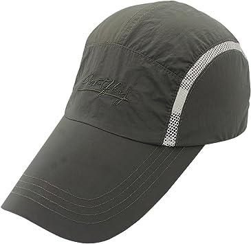 Outfly - Gorra de Sol para Hombre Mujer Verano con Malla Ajustable ...