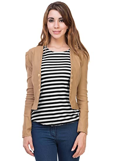 Dimpy Garments Women S Top With Jacket Amazon In Clothing
