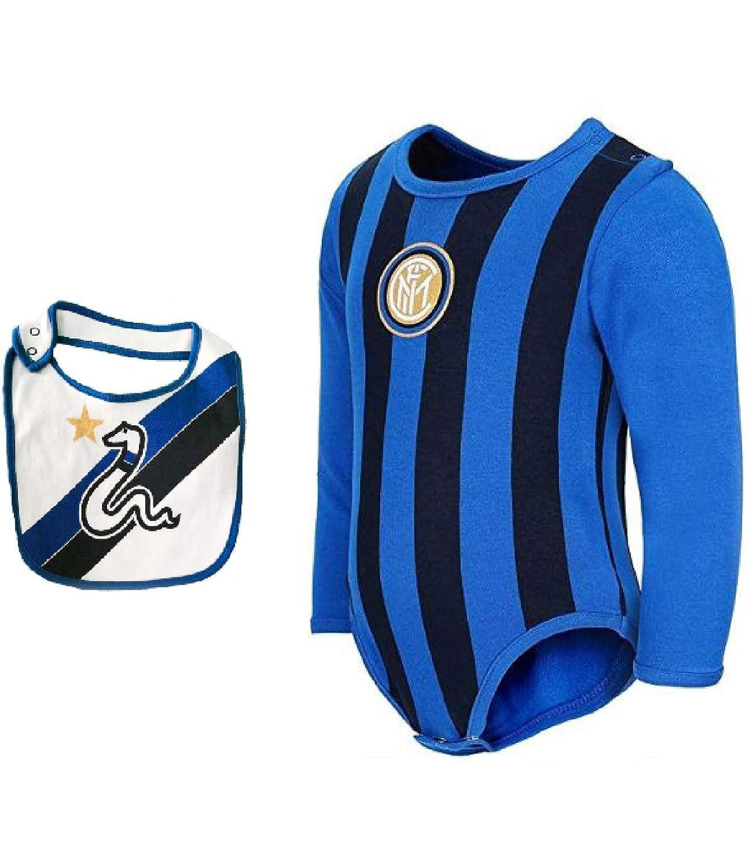 Bavetta Mis 12 18 24 Mesi in Caldo Cotone FC Inter Body