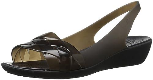 5a5b7b636f3e Crocs Womens Isabella Slingback Flat  Amazon.ca  Shoes   Handbags
