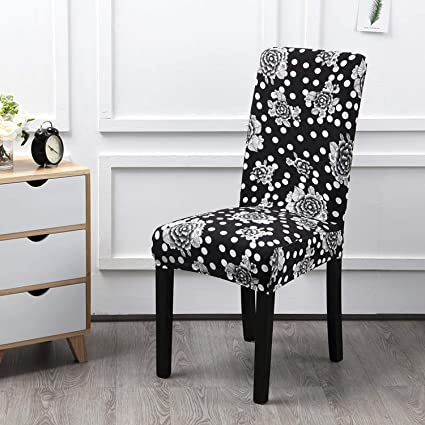 amazon com dining room seat protector cover removable kitchen rh amazon com Leather Dining Room Chair Covers Amazon Kitchen Dining Room Chair Covers