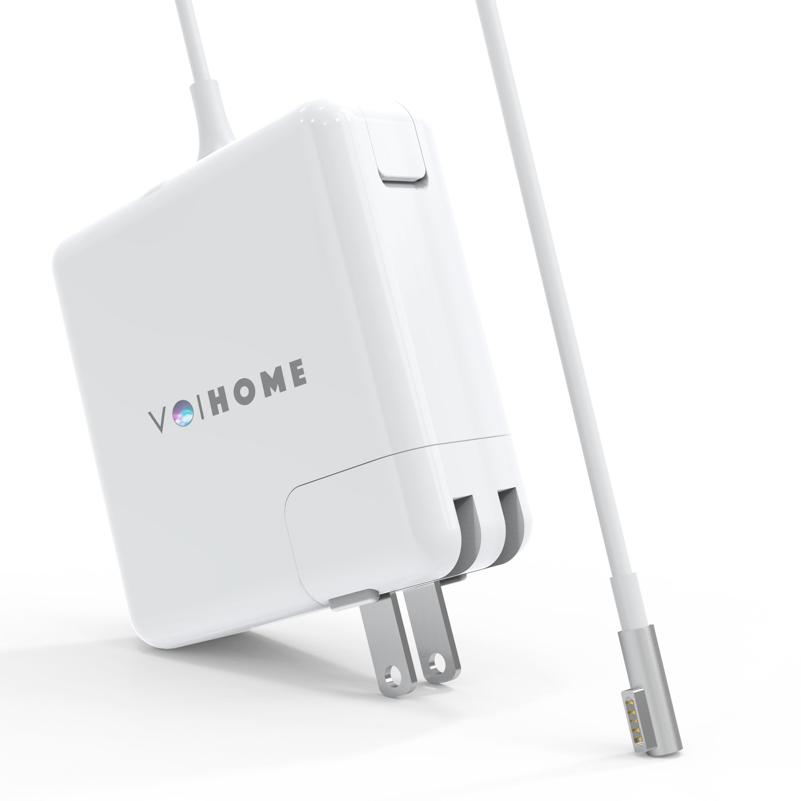 MacBook Pro Charger, Replacement of voihome 45W L-Tip MagSafe Power Adapter for Macbook Pro Charger 13-inch (Before Mid 2012 Models) (45W-L)