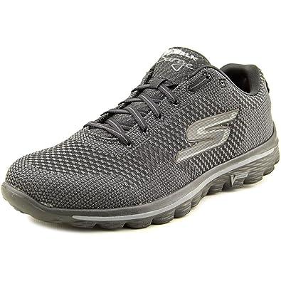 56e7c0e4ece4b Skechers Go Walk 2 - Spark Women Black Walking Shoe US 11 UK 8 ...