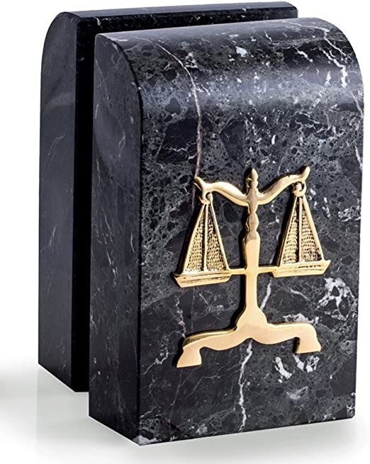 Legal Profession Lawyer Gifts KensingtonRow Home Collection Paperweights Scales of Justice Marble Paperweight