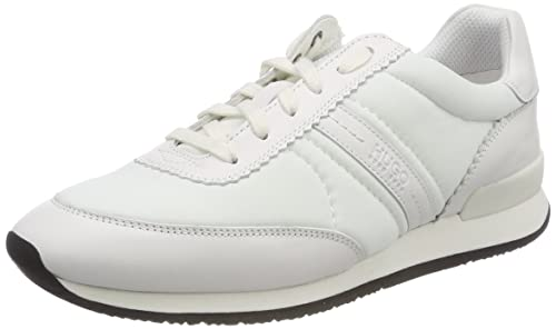 HUGO BOSS Uptown Adrienne-c, Sneakers Basses Femme, (White 100), 42 EU
