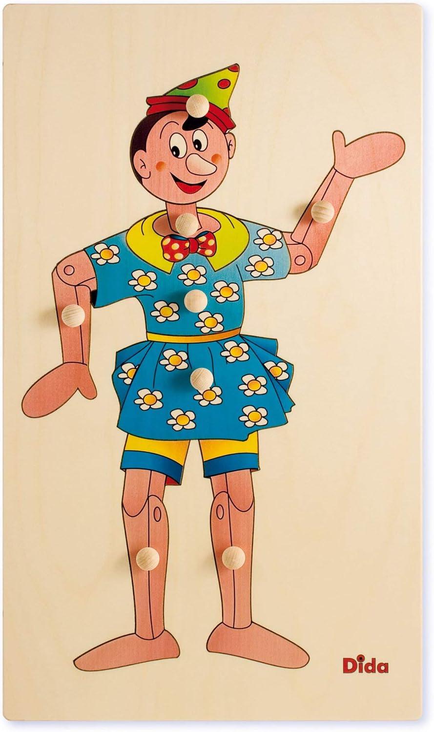 Dida - Rompecabezas Cuerpo - Pinocho: Amazon.es: Juguetes y juegos
