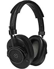 Master & Dynamic MH40 Over-Ear Headphones - Black Metal/Black Leather
