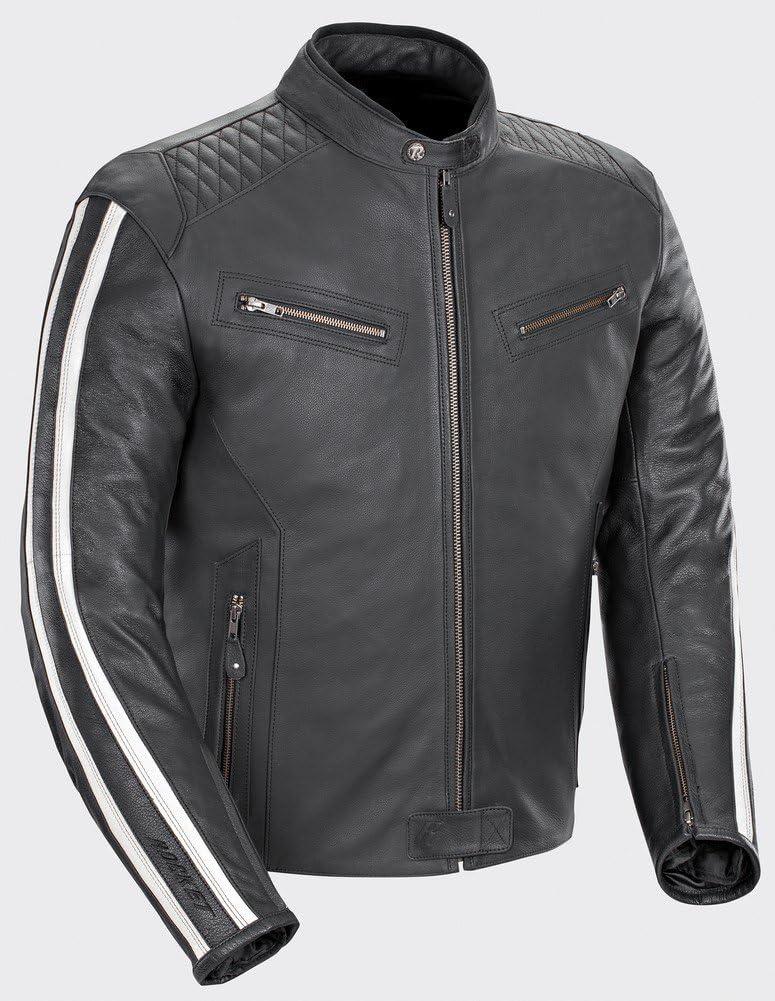 Joe Rocket 'Vintage' Leather Racing Jacket}