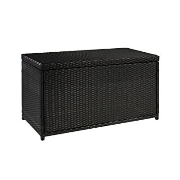 wicker deck storage box weather proof patio furniture pool toy container costco plastic outdoor bunnings amazon