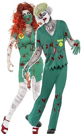Fancy Me Couples Mens Ladies Zombie Paramedic Doctor Scrub Nurse Nhs
