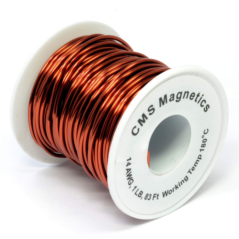 14 Gauge Magnet Wire | 14 AWG Enameled Copper