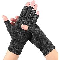 EXCEART 1 par de Luvas de Artrite Luvas de Compressão de Mão Sem Dedos para Artrite para Alívio da Dor de Artrite…