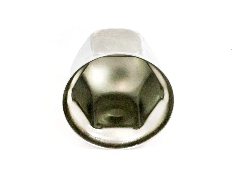 Best In Auto Stainless Steel Wheel Simulators 32 MM Lug Nut Cover