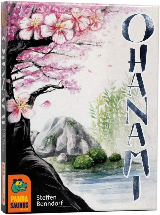 Pandasaurus Games Ohanami - Competitive Strategy Card Game - Family-Friendly Board Games - Adult Games for Game Night - Card Games for Adults, Teens & Kids (2-4 Players)