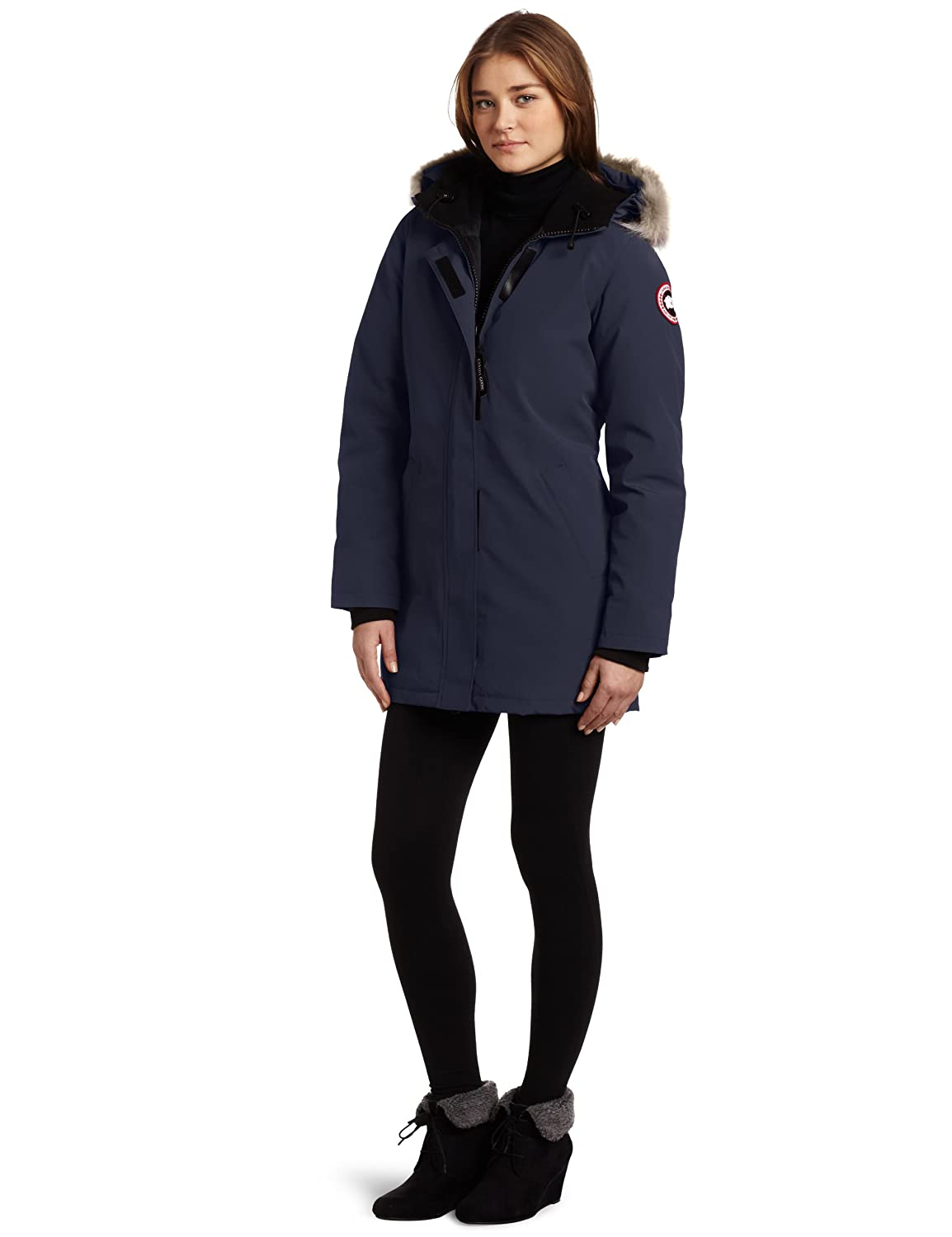 16a80f6a8006 Amazon.com  Canada Goose Women s Victoria Parka  Clothing