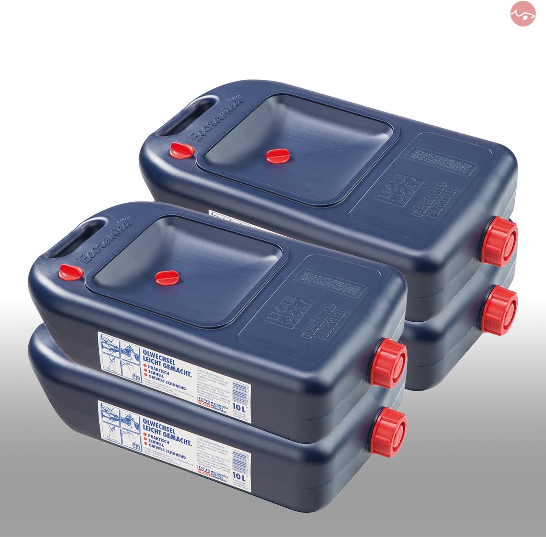 4x Liqui Moly 7055 Ölwechsel Kanister Ölkanister Auffangwanne Behälter 1 Stü Auto