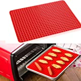 LetGoShop Silicone Baking Mats Non-stick Toaster Oven Baking Tray Healthy Cooking Heat Resistant Baking Sheet