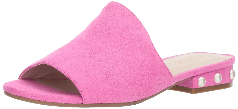 Kenneth Cole REACTION Women's Vikki Slip Embellished Heel Slide Sandal B074RML5VF 8 B(M) US|Bubblegum