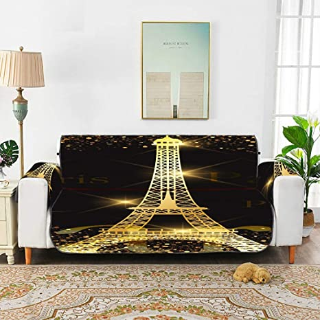 WYYWCY Fundas Protectoras Paris Gold Eiffel Tower para ...