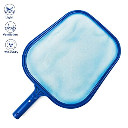 Professional Pool Skimmer Swimming Pool Leaf Net For Cleaning Pool Rake Pool Cleaning Supplies KOBWA Pool Skimmer Net Pole Not Included