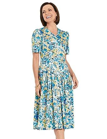 Chums Tropfen-Taillen-Kleid 40 Inches: Amazon.de: Bekleidung
