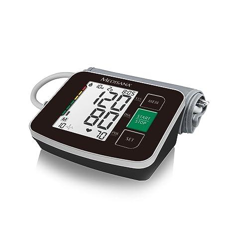 Medisana BU 516 51166 - Monitor de Presión Arterial para Brazo en Negro con Indicador de
