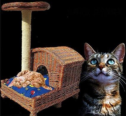 Waa liu ratán Serie gato lanzamiento gato escalada Frame ...