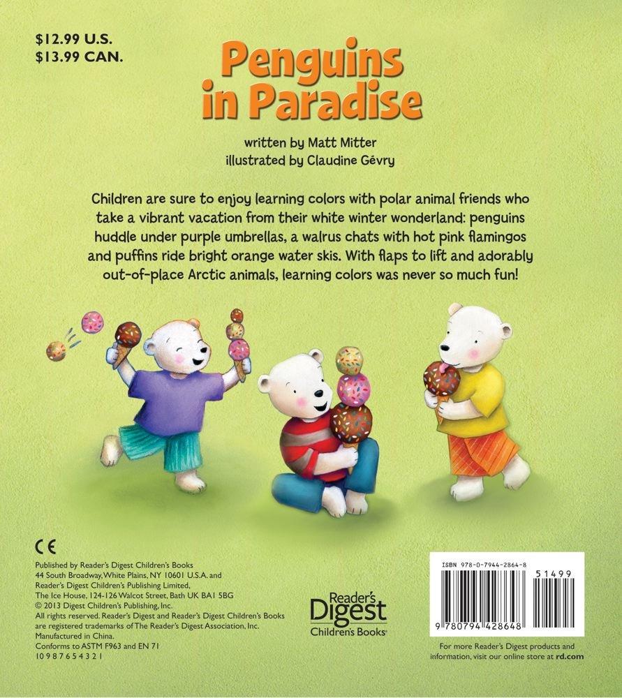Amazon.com: Penguins in Paradise: A Colors Flap Book (9780794428648 ...