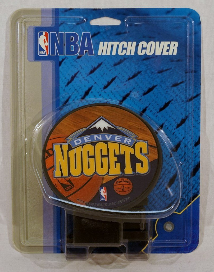 NBA Denver Nuggets Economy Hitch Cover by Rico Industries