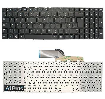 SAMSUNG NP300E5C - A02 portátil de teclado para portátil Negro UK alineación de rápido y blanco: Amazon.es: Electrónica