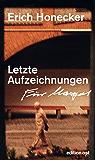 Letzte Aufzeichnungen (German Edition)