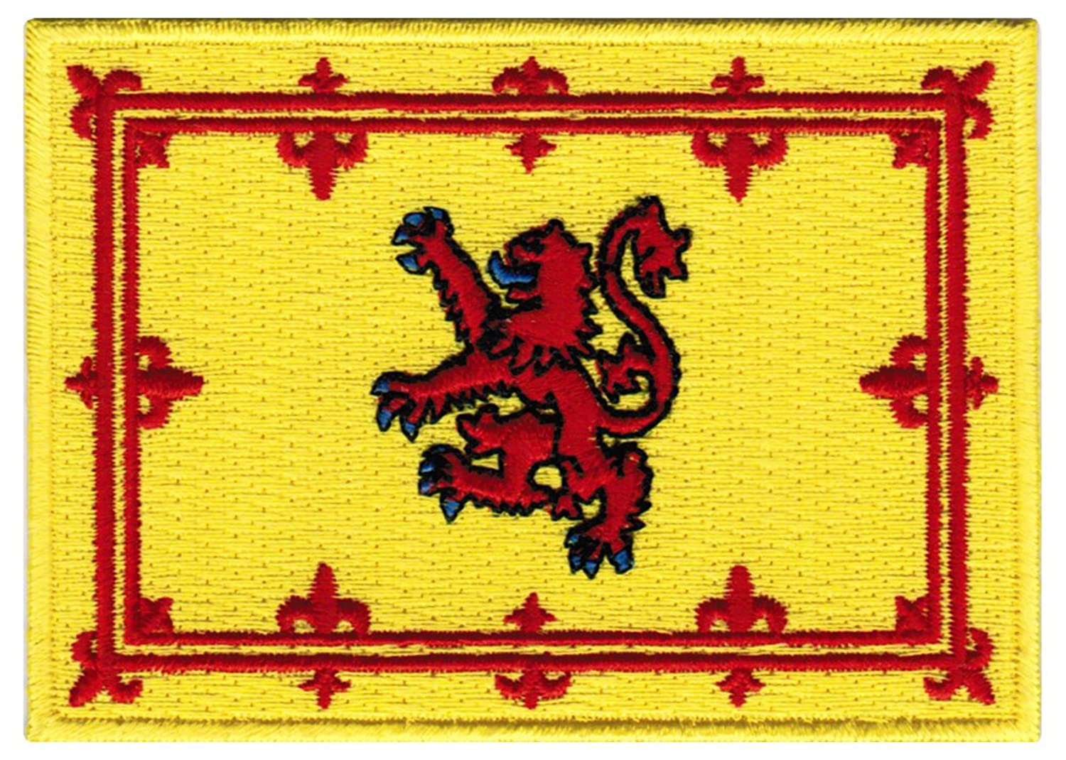 amazon com scotland lion rampant flag embroidered patch scottish