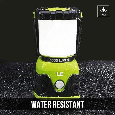 LE (Lighting Ever) 1000 Lumen Led Camping Lantern