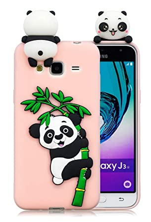coque de portable samsung j3 2016 panda