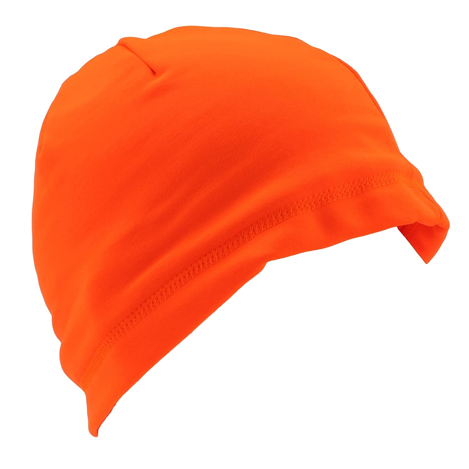 Tek Gear Blaze Orange Compression Hunting Beanie for Men at Amazon Men s  Clothing store  Cold Weather Hats fe1491a9ae86