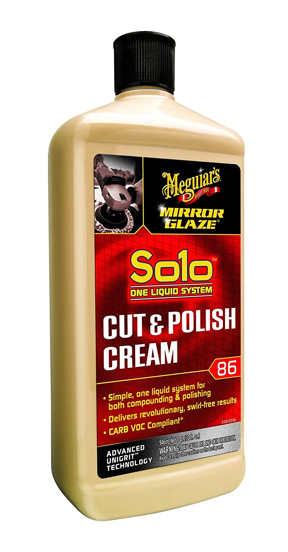 Meguiar's M86 Mirror Glaze Solo Cut & Polish Cream - 32 oz. Meguiar' s M8632