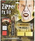 """Halloween Schminke Make up Set """"Vampir Zipper Kit"""" BLUT verschmiert"""