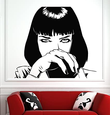 Amazon.com: Pulp Fiction Wall Decals Decor Vinyl Stickers GMO2408 ...