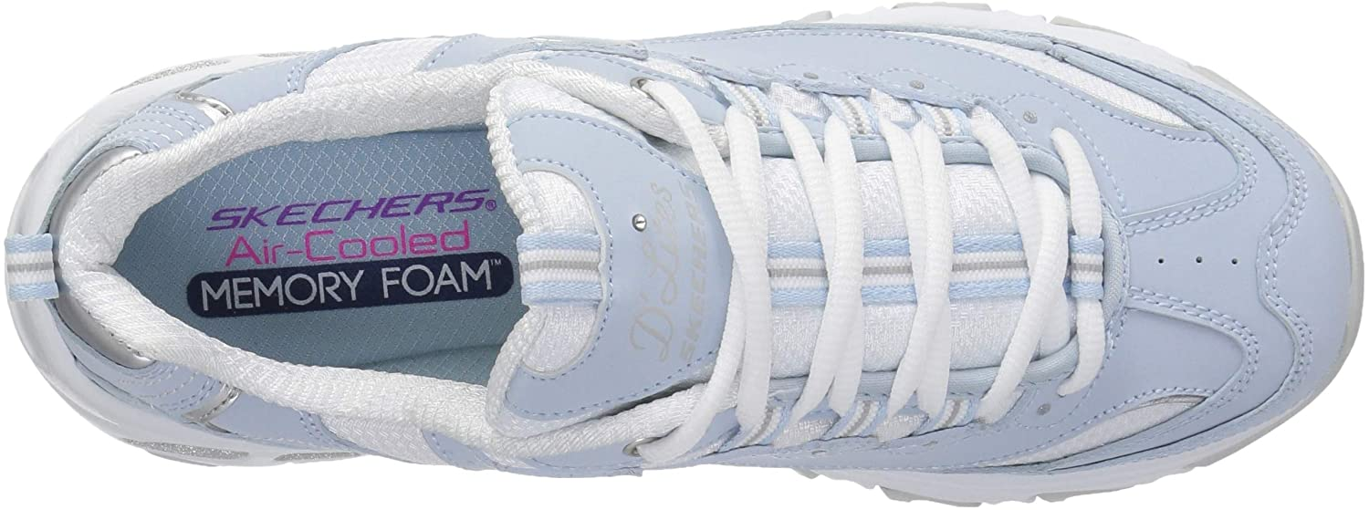Skechers-D-039-Lites-Women-039-s-Casual-Lightweight-Fashion-Sneakers-Athletic-Shoes thumbnail 14